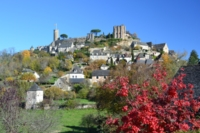 Turenne village correze central France